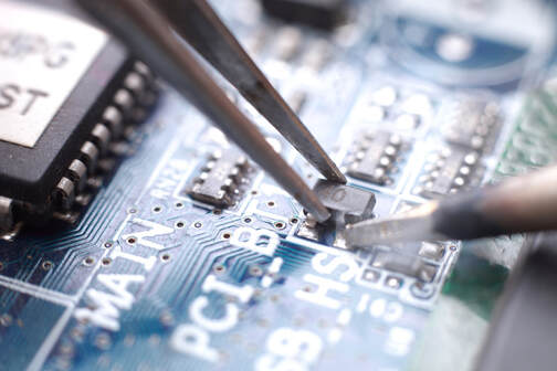 Mobile phone IC chip repair